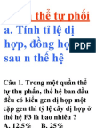 Bai Tap Quan The