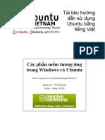 Correspondance Ubuntu Windows Vi