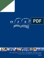 2013 OISE English Adult Brochure