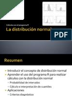 La Distribucion Normal