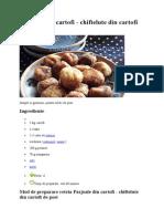 Parjoale Din Cartofi