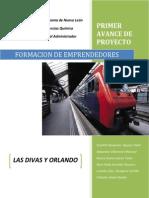 Primer Avance Emprendedores Las Divas y Orlando