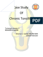 Case Study-Chronic Tonsillitis
