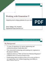 Working With Gen Y HBR Final