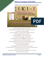 Programa Reiki i en Cartagena (Murcia, España)
