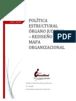 POLÍTICA ESTRUCTURAL REEDISEÑO DEL MAPA JUDICIAL (2)