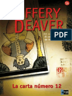 Jeffery Deaver [Lincoln Rhyme06 La Carta Numero 12