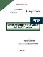 Monographie Porto Novo