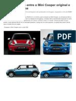 Veja diferenças entre o Mini Cooper original e a versão chinesa