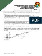 examen Recuperacion Vacacional-2013