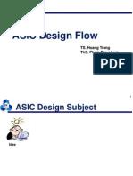 01 ASIC Design Flow