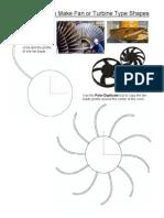 Create Fan Shapes