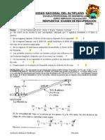 Respuestas Examen Recuperacion Vacacional-2013
