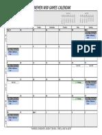 2014 LWG Calendar