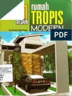 21 Desain Rumah Tropis Modern