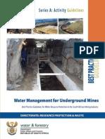 BPG_A6Water Management for Underground Mines