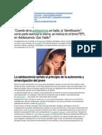 La adolescencia señala el principio de la autonomía y emancipación del joven.docx