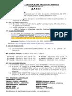 Bases Torneo de Clausura Ajedrez Eiffel 2014