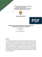 DEDUCCIÓN DE CONDUCCIÓN DE CALOR