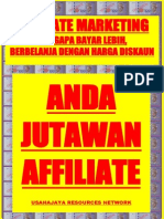Affiliate Marketing, Anda Jutawan Affiliate