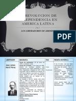 La Revolucion de Independencia en America Latina