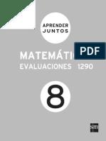 Aprender Juntos Matematicas 8 Evaluaciones