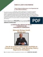 SEMINARIO INTERNACIONAL LA ESENCIA DEL NEGOCIO DE RETAIL Y TENDENCIAS DEL CONSUMIDOR POSMODERNO