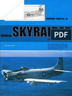(Warpaint Series No.18) Douglas Skyraider including AD-1 to AD-7
