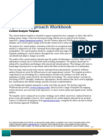 Systems Approach- Context Analysis Template