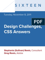 Design with CSS