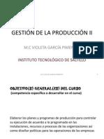GESTIÓN DE LA PRODUCCIÓN II