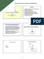 Introducción a las comunicaciones vía satélite