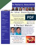 Pediatric Newsletter 2.11.08