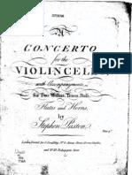 Paxton - Cello Concerto