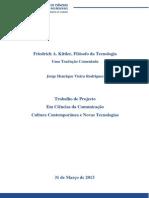 Artigos de Kittler Traduzidos Portugues