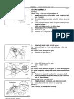 1997 Toyota Land Cruiser Power Steering Disassembly(FSM)