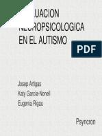 Evaluacion Neuropsicologica en Autismo