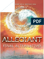 Allegiant, Final Alternativo - FlyingWithBooks