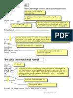 Formal Email Format