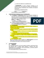 Teoría de las proposiciones coordinadas