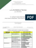 17-At Struttura Portante-Fondazione, Contenimento 12-13 - Corso Architettura Tecnica