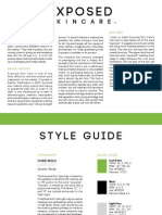 Exposed Skin Care Plan & Style Guide Pg1-3