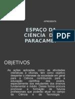 ESPAÇO DA CIÊNCIA DE PARACAMBI