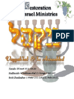B'midbar Ministries:Vayakhel and He Assembled