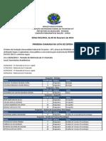 Edital015 2013 1a Chamada Lista Espera SiSU 2013 1