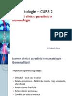 C2 Examen Clinic Si Paraclinic