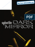 Syphon Filter - Dark Mirror - Manual - PSP