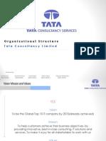 119166466 Organizational Structure TCS