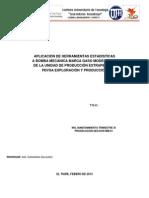 Analisis Tecnico Del Mtto Mediante Uso de Heramientas Estadisticas