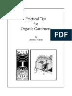 Practical Tips for Organic Gardeners